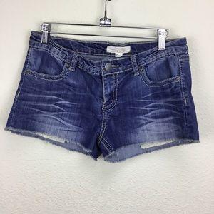 Forever 21 Denim Cut Off Shorts 28